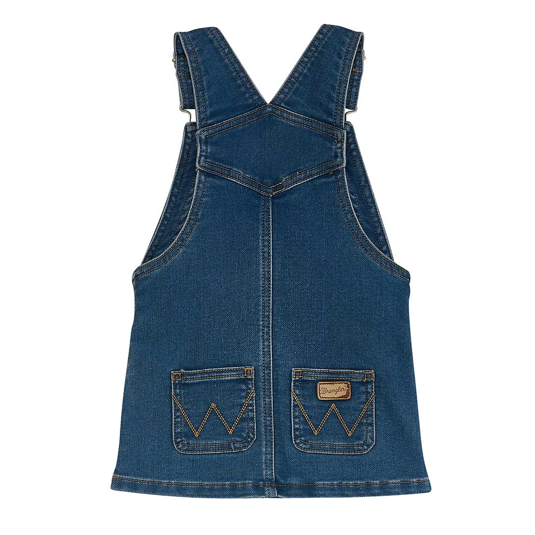 Wrangler Baby & Toddler Girl's Jean Overall Dress
