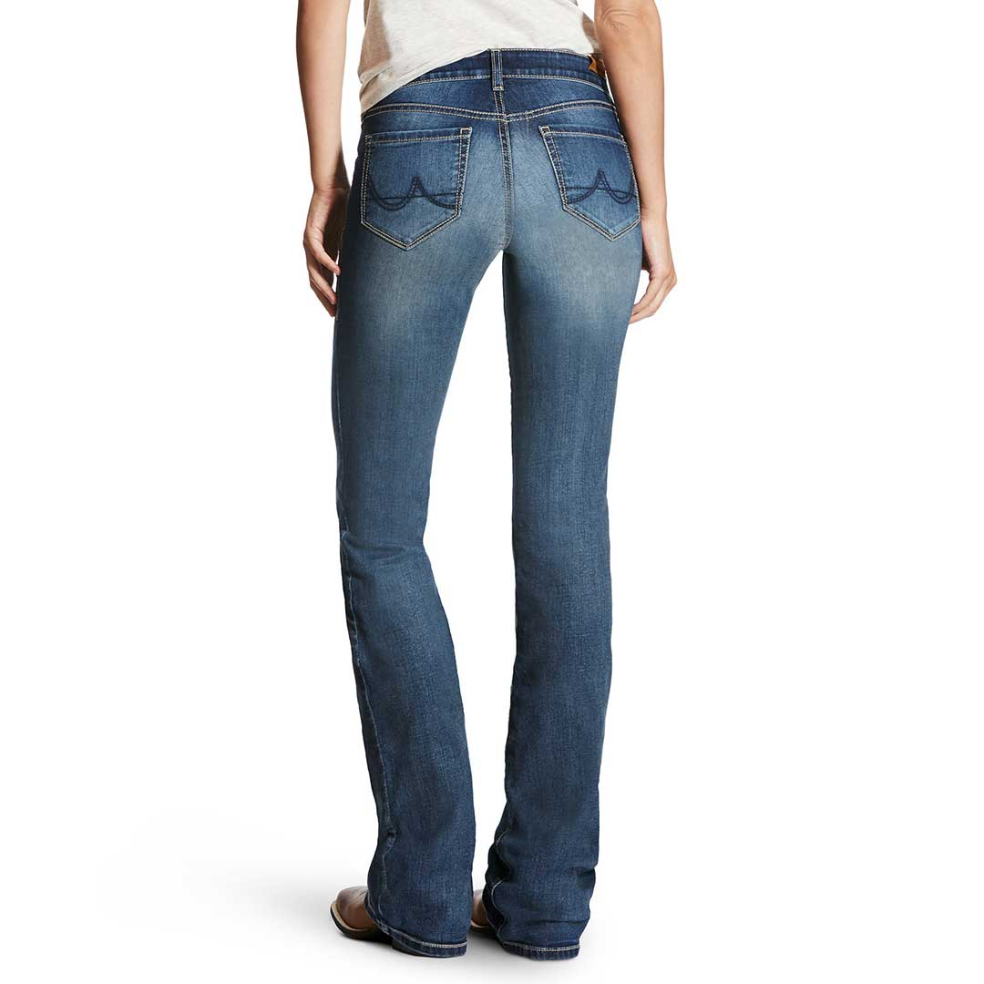 Ariat R.E.A.L.™ Ultra Stretch Iron Rose Jeans