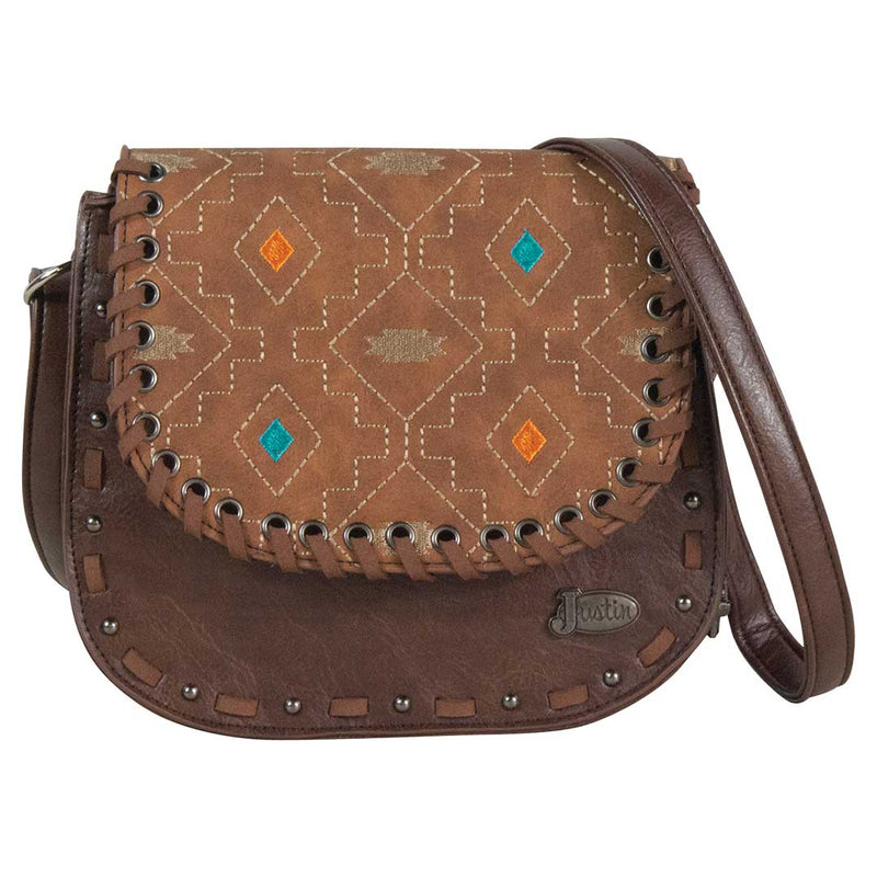Justin Women's Embroidered Crossbody Purse