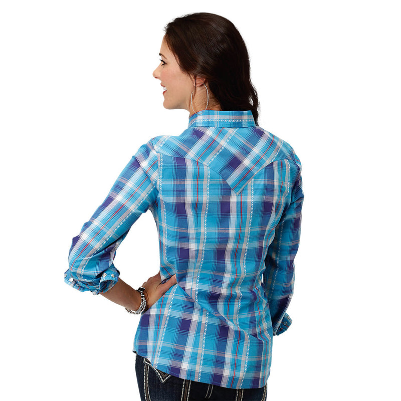 Roper Blue Spruce Plaid Shirt