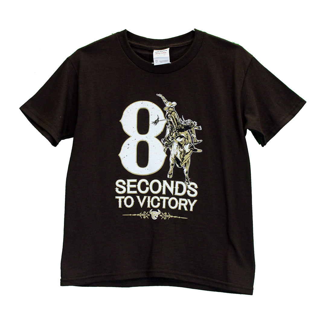 Cowboy Hardware 8 Seconds to Victory T-Shirt