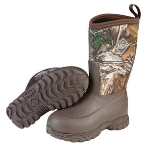 Muck Boot Rugged II Tree Camo Kids Winter Boots