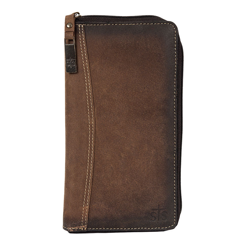 STS Ranchwear Leather Passport Wallet