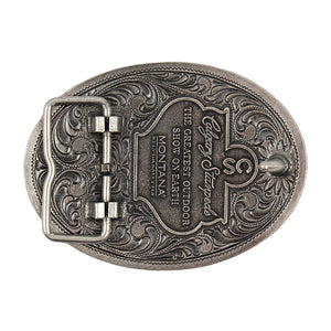 Antique Two Tone Chuckwagon Calgary Stampede Buckle