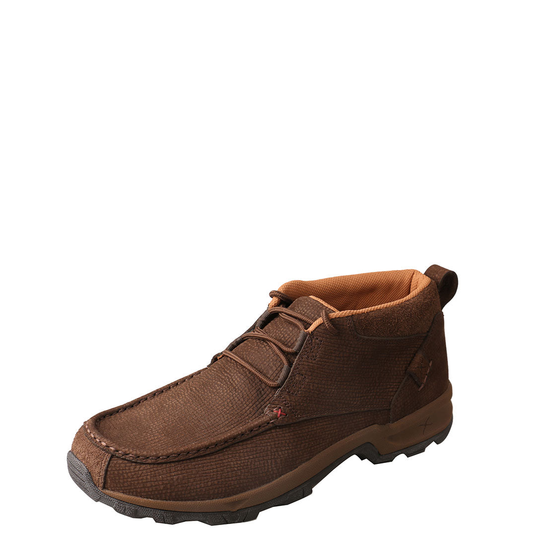 Twisted X Chocolate Brown Men's Hiker Shoes
