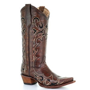 Circle G Evolution Oak Cowgirl Boots