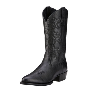Ariat Heritage Black Cowboy Boots