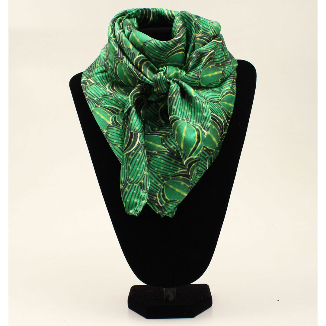 M&F Western Products Green Cactus Wild Rag