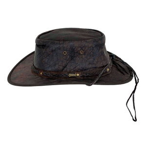 Outback Trading Co. Iron Bark Leather Hat