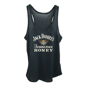 Jack Daniel's Honey Bee Logo Black Tank