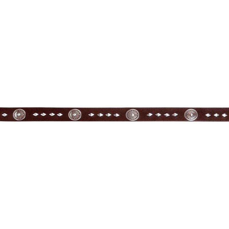Wrangler Leather & Concho Women's Belt
