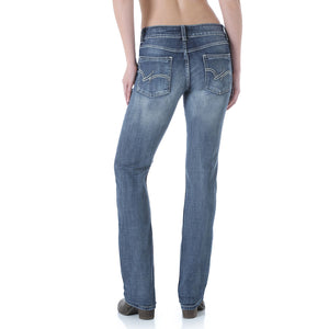 Wrangler Dark Blue Straight Leg Jean