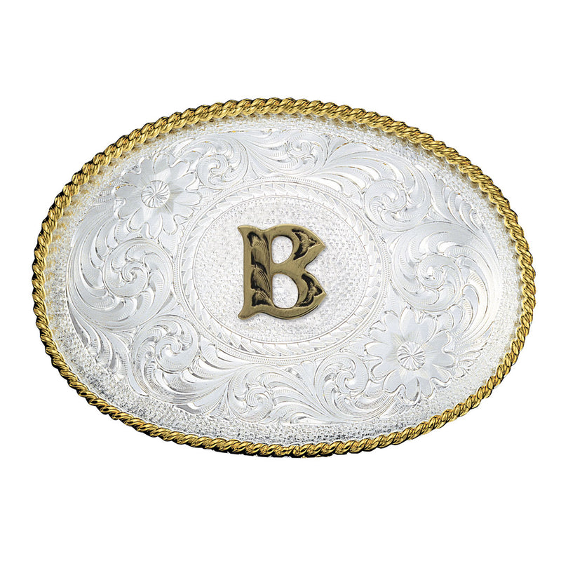 Montana Silversmiths Initial Engraved Buckle
