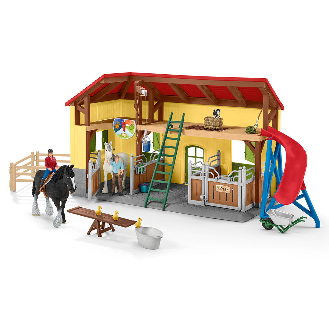 Schleich Horse Stable Set Toy
