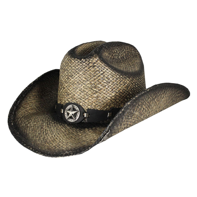 Bullhide Hats Star Central Straw Cowboy Hat
