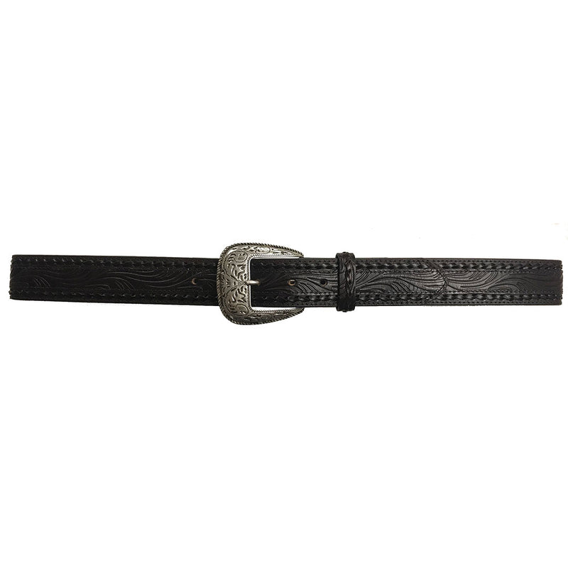 AndWest Twisted Lace Edge Tooled Belt