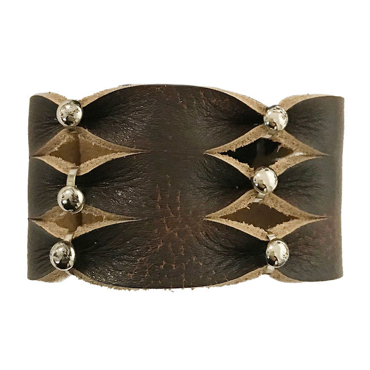 Cowgirl Confetti Women's Simply Stylish Leather Cuff Bracelet