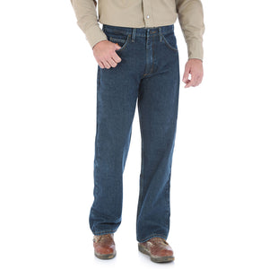 Wrangler Flame Resistant Relaxed Fit Crosshatch Jean