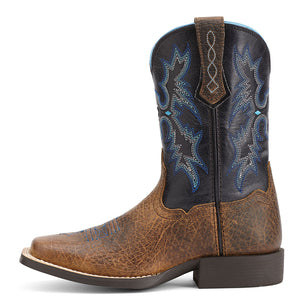 Ariat Tombstone Earth Blue Kids Cowboy Boots
