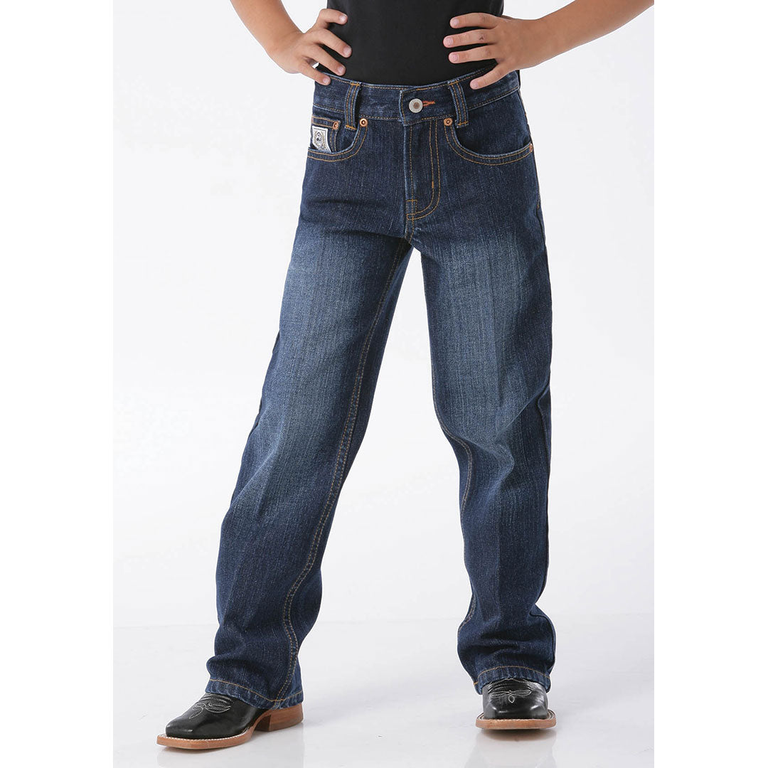 Cinch White Label Dark Blue Boys Jeans