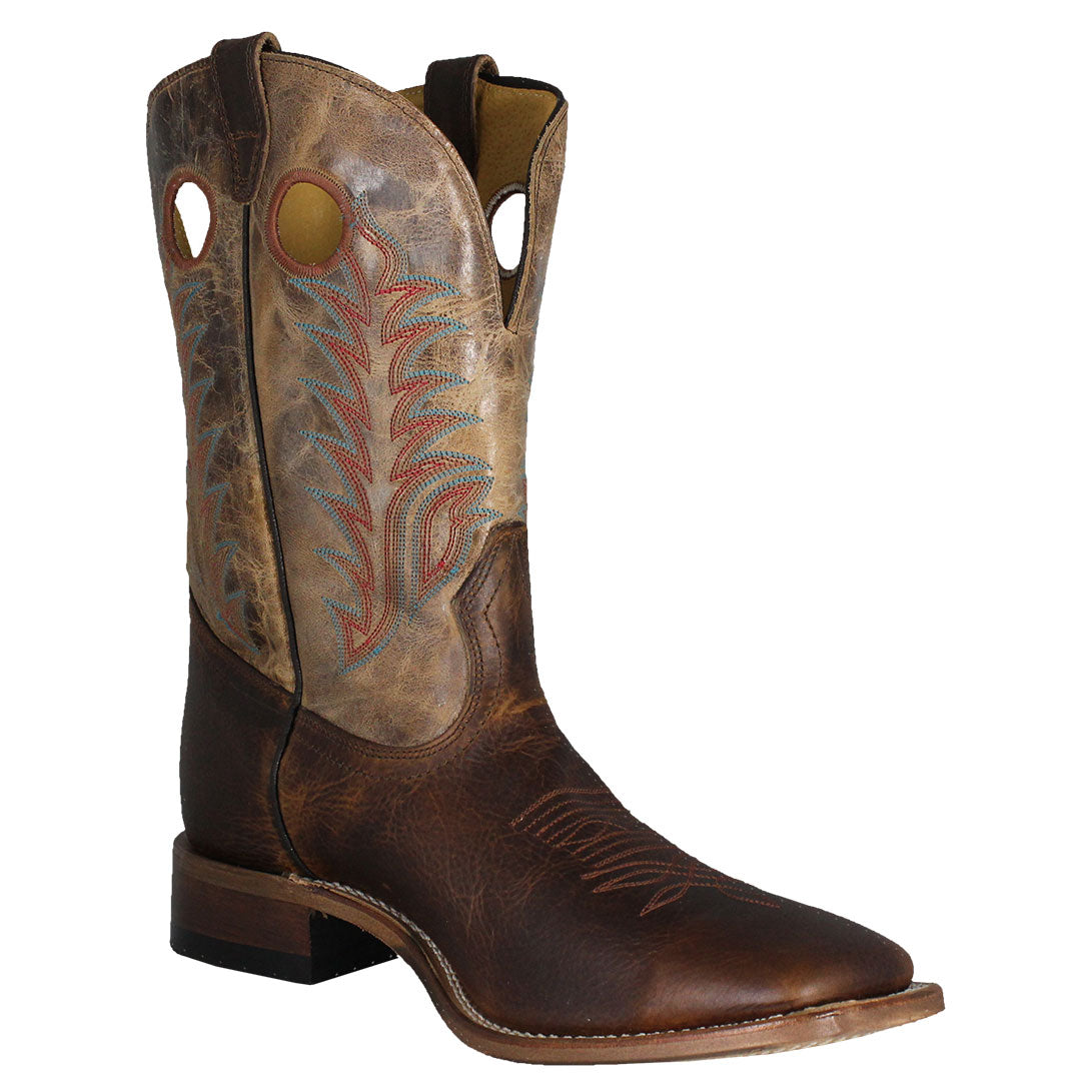 Boulet Challenger Brown Cowboy Boots