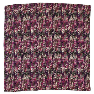 Wrangler Abstract Print Purple & Blue Wild Rag