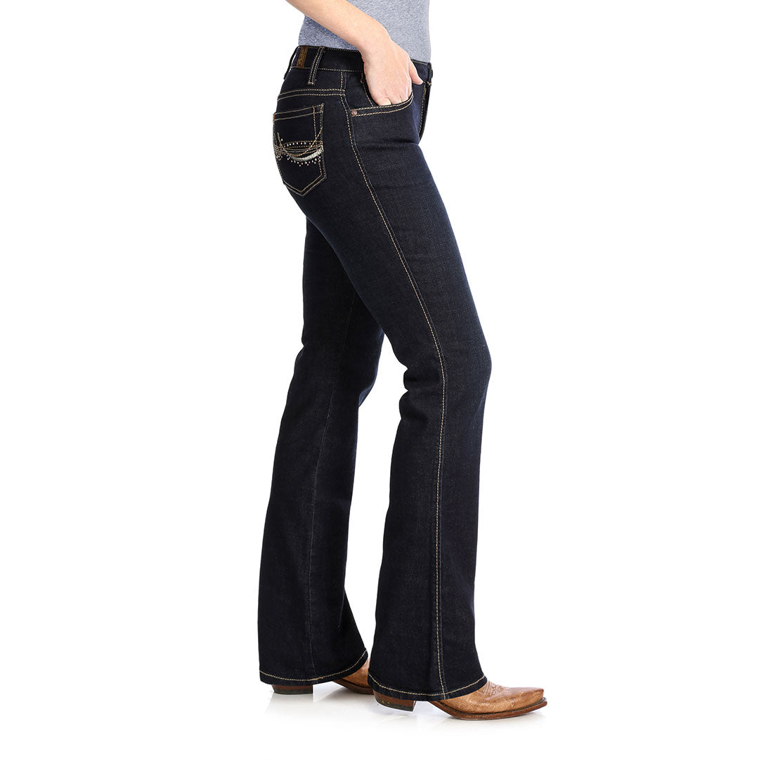 Wrangler® Aura Instantly Slimming Boot Cut Womens Jean