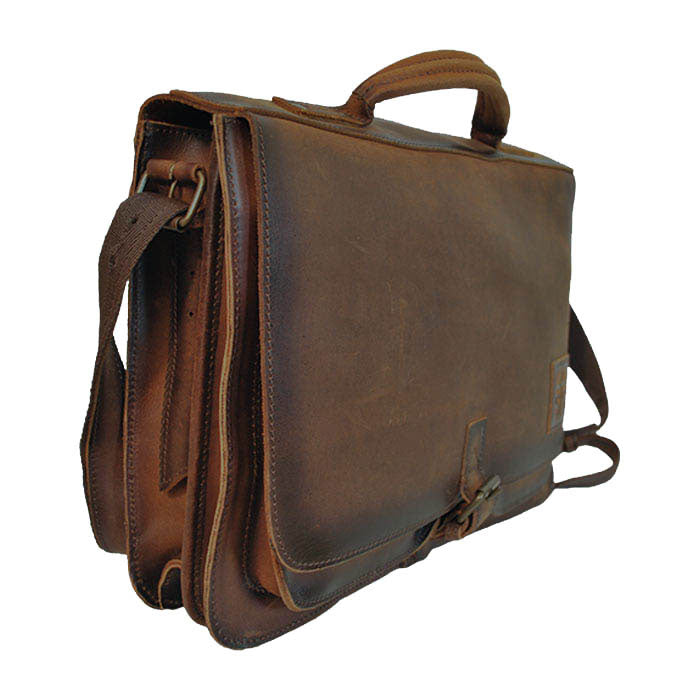 Foreman Brown Leather Portfolio