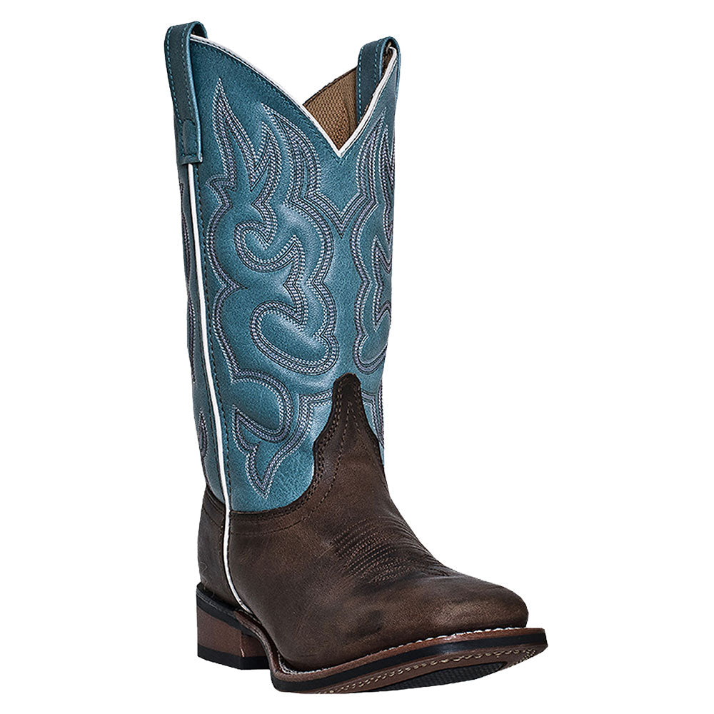 Laredo Mesquite Light Blue Cowgirl Boots