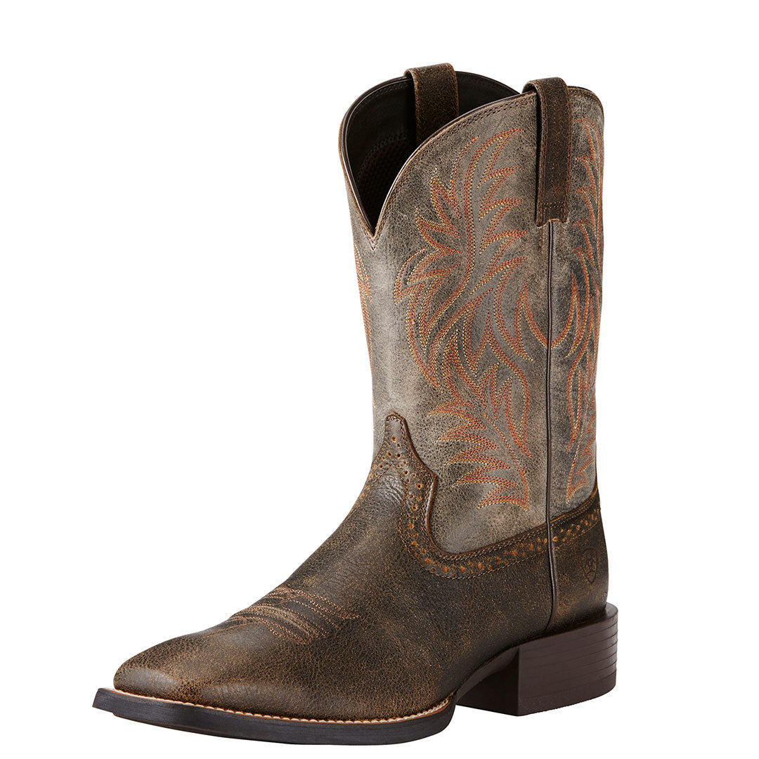 Ariat Sports Western Brown Cowboy Boot