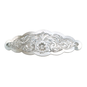 Montana Silversmiths Small Scalloped Silver Barrette