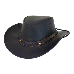 Outback Trading Co. Wagga Wagga Leather Hat