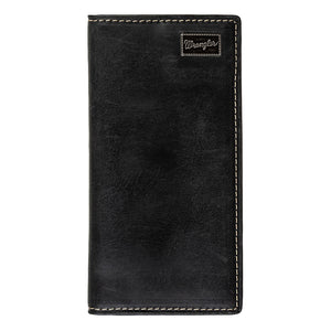 Wrangler Metal Patch Rodeo Wallet