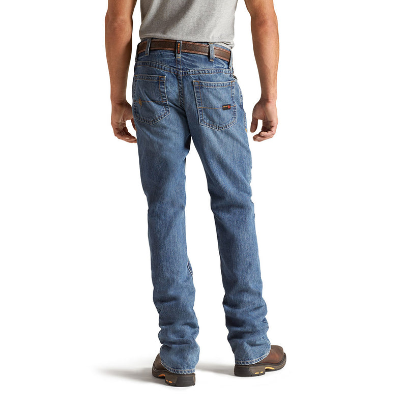 Ariat Men's FR M4 Low Rise Relaxed Bootcut Jean