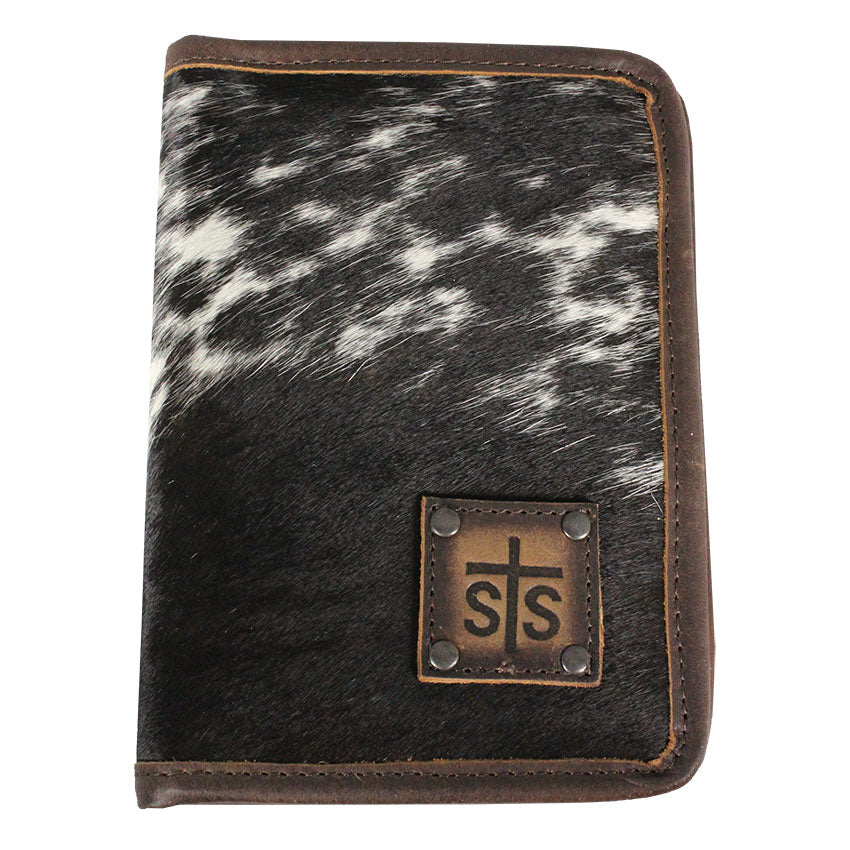 STS Ranchwear Leather Portfolio Magnet Wallet