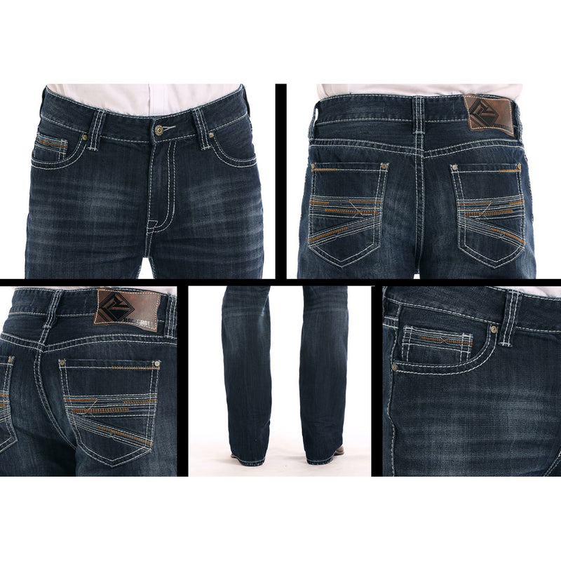 Rock & Roll Denim Double Barrel Straight Jeans
