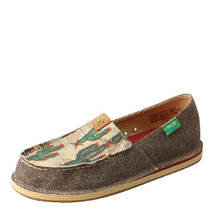 Twisted X Cactus Casual Slip On Womens Loafer