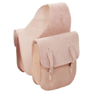 Tough-1 Ruff-Out Leather Saddle Bag