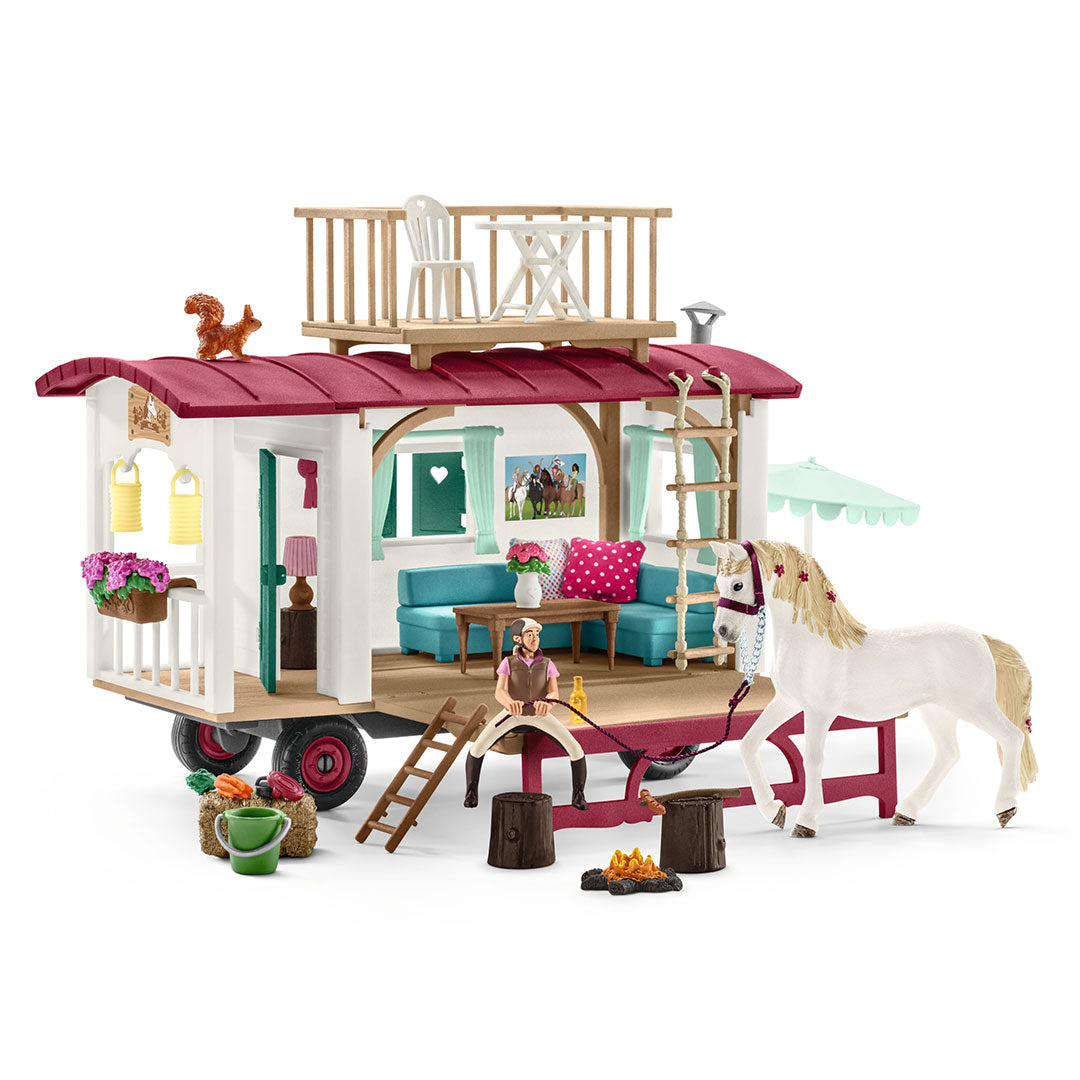 Schleich Secret Club Meetings Caravan Set Toy