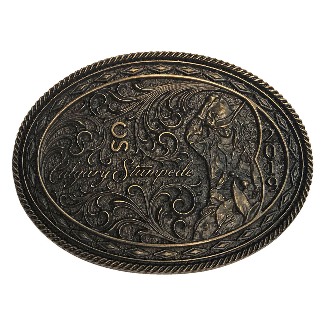 Brass 2019 Calgary Stampede Poster Buckle