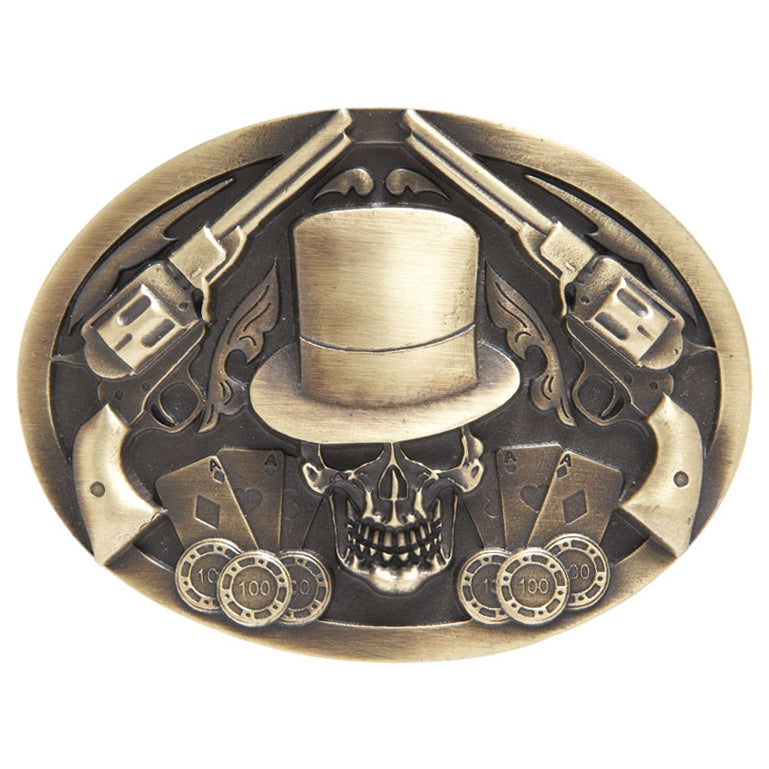 AndWest Antique Old West Buckle