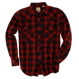 Double R Pintail Red Plaid Shirt