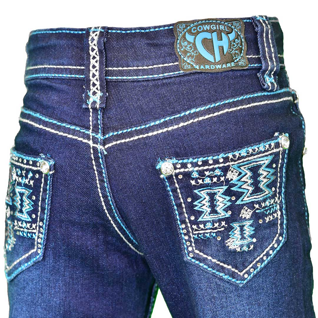 Cowgirl Hardware Toddler Girl's Bootcut Jeans