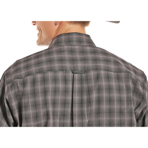 Tuf Cooper Competition Charcoal Plaid Shirt