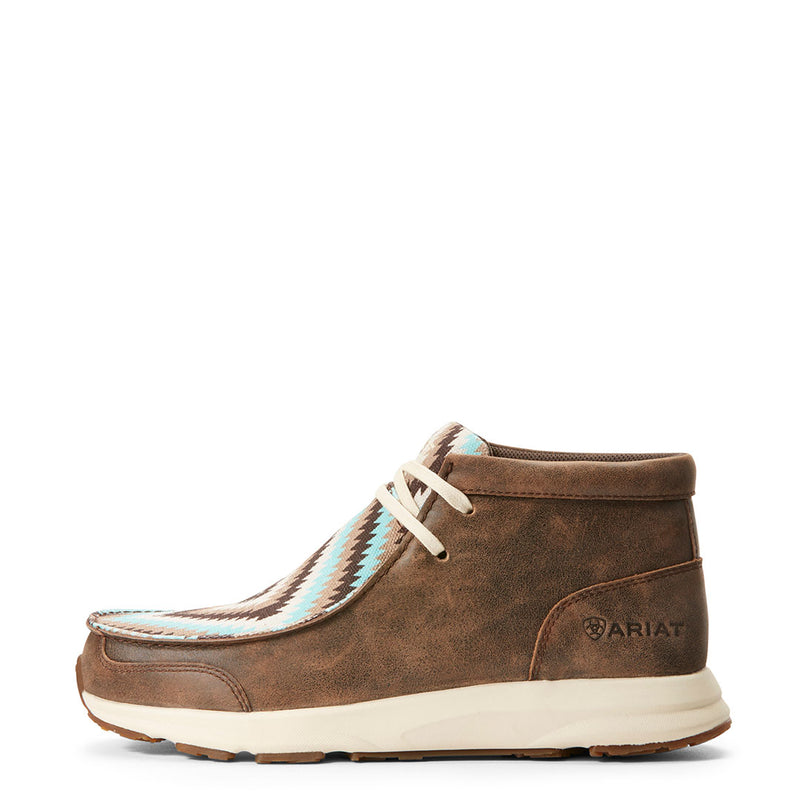 Ariat Women's Spitfire Chevron Moc Toe Shoe