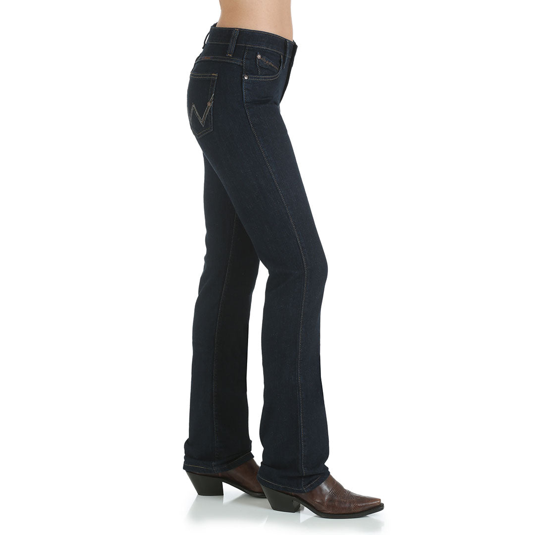 Wrangler Ultimate Riding® Q-Baby Women's Dark Wash Jeans