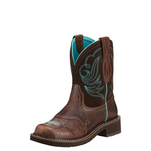 Ariat Fatbaby Heritage Dapper Chocolate Cowgirl Boots