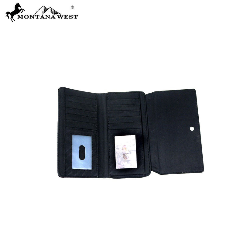 Montana West Multi Horse Wallet