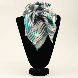 M&F Western Products Turquoise Chevron Wild Rag