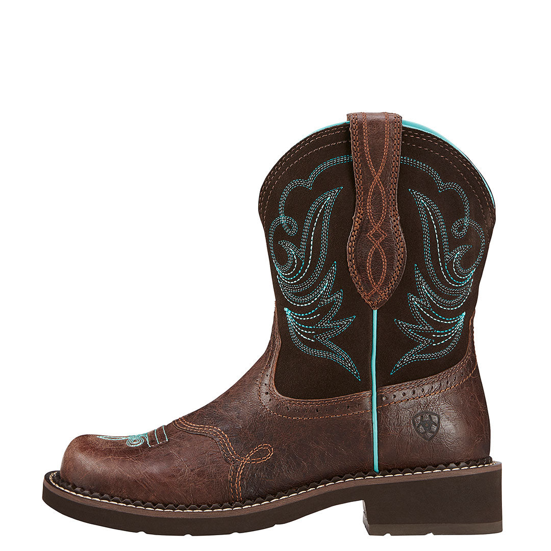 Ariat Women's Fatbaby Heritage Dapper Cowgirl Boot